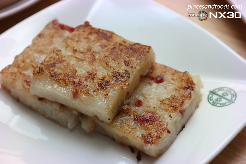 tim ho wan pan fried carrot cake