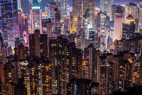 night landscape hongkong pentax thepeak 香港 夜景 victoriaharbour pentaxfa77mmf18limited