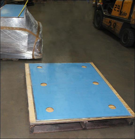 PTFE Slide Plates Designed for an Oil Refinery in Texas