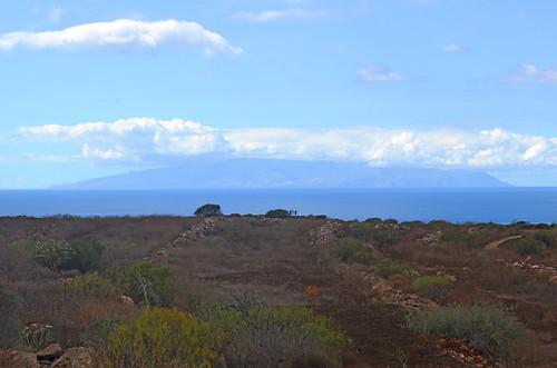 La Gomera from Montaña Guaza, Tenerife