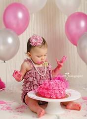 1st Birthday Cake Smash | Kissimmee FL Photographer