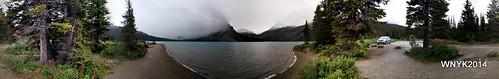 Bow Lake Pano