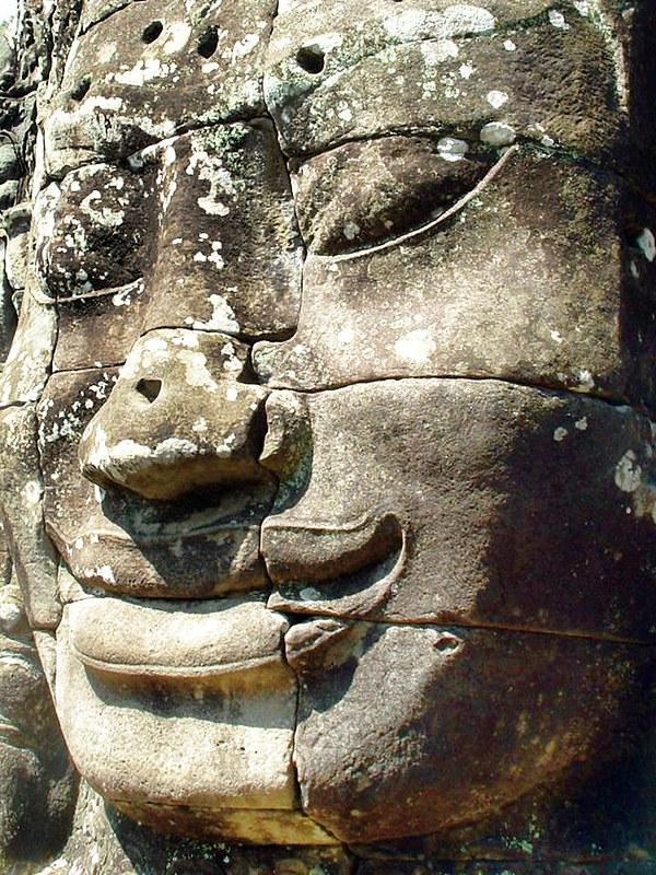 Bayon Head, Angkor Wat