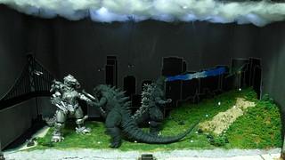 【玩具人陳小帥投稿】哥吉拉自創怪獸場景