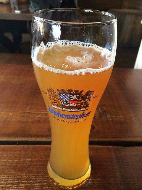 Weihenstephan beer - Rosamunde Sausage Grill
