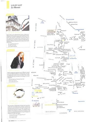 Where Paris City Guide - November 2014 n° 250