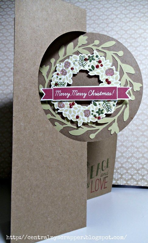 2 Weeks Until Christmas - Artfully Sent & Merry, Merry front
