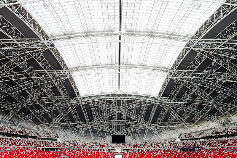 Singapore National Stadium Roof Feature