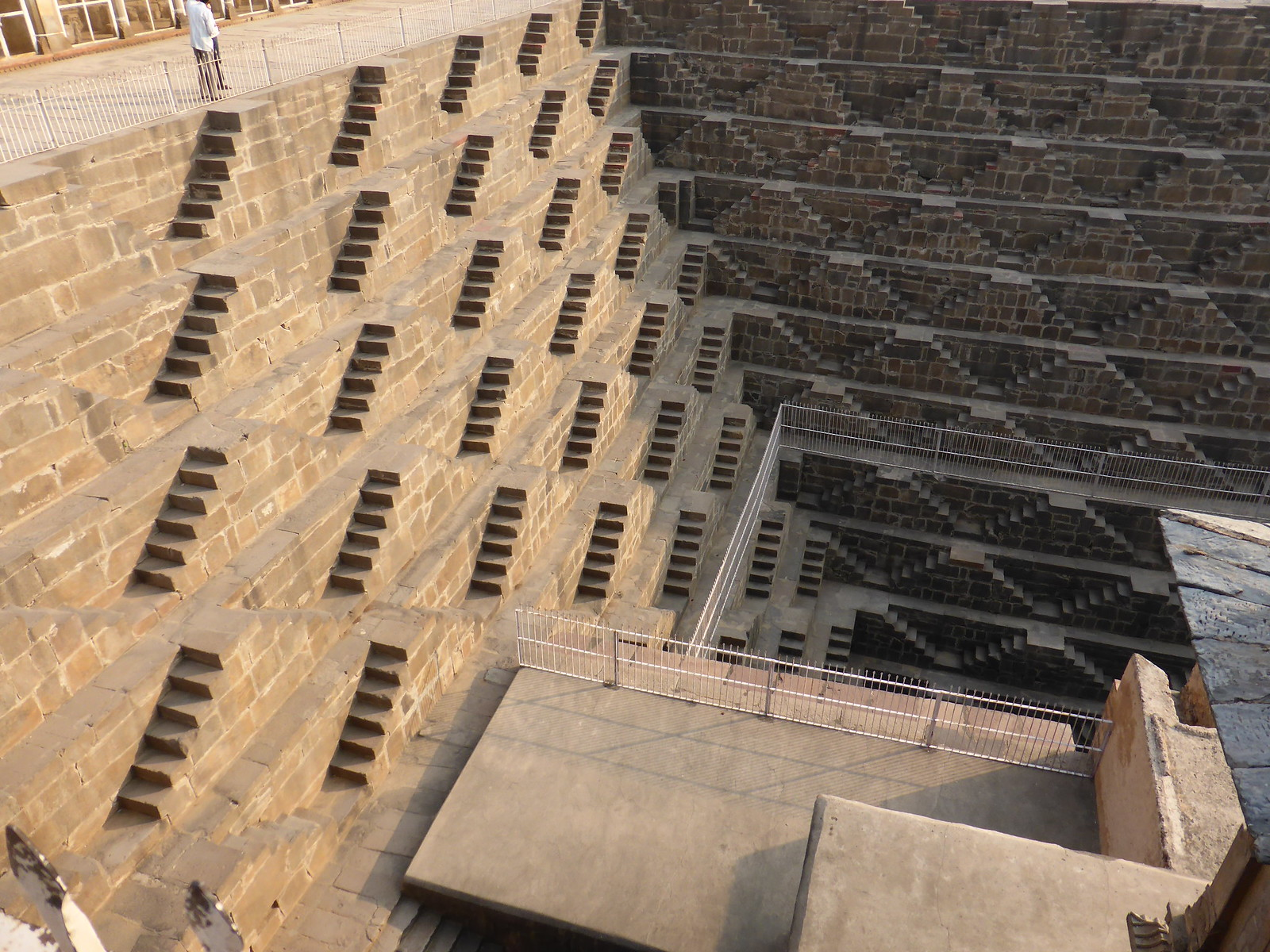The Chand Baori (Stepwell)