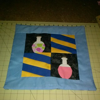 Potions Pillow Cover