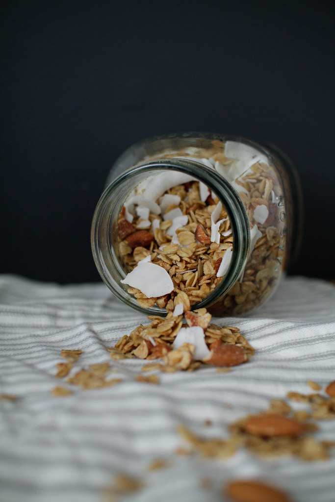 Granola amandes et coco