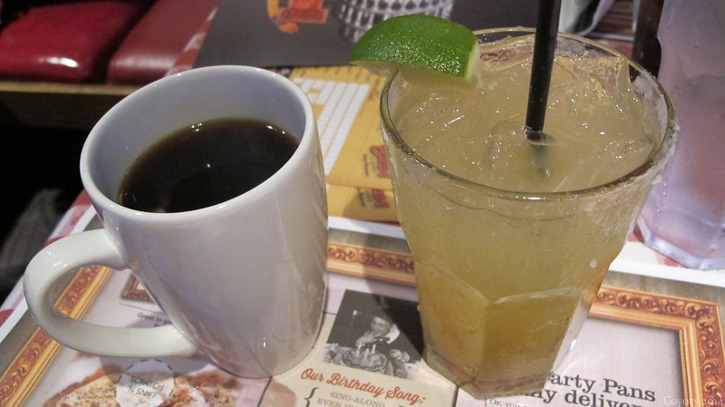 Coffee and Ultimate Margarita