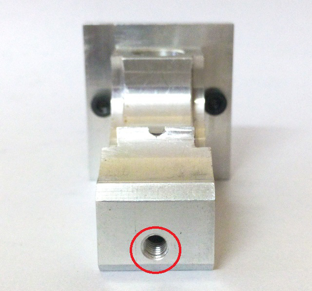 Mounting hotend