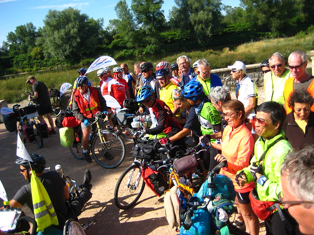 Group Photo at the Loire