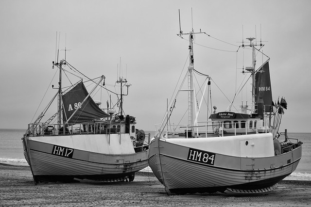 Boats on Thorupstrand