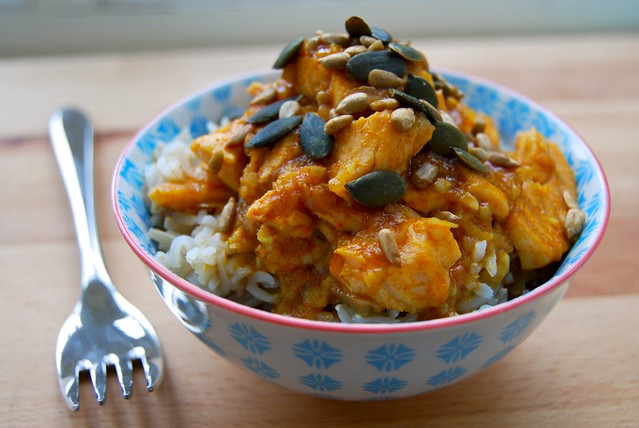 Quick Malaysian Salmon Curry