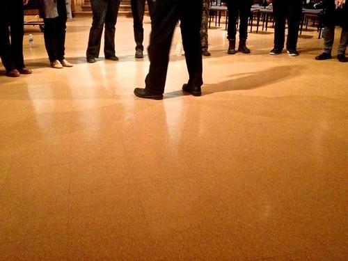 footwork of sound