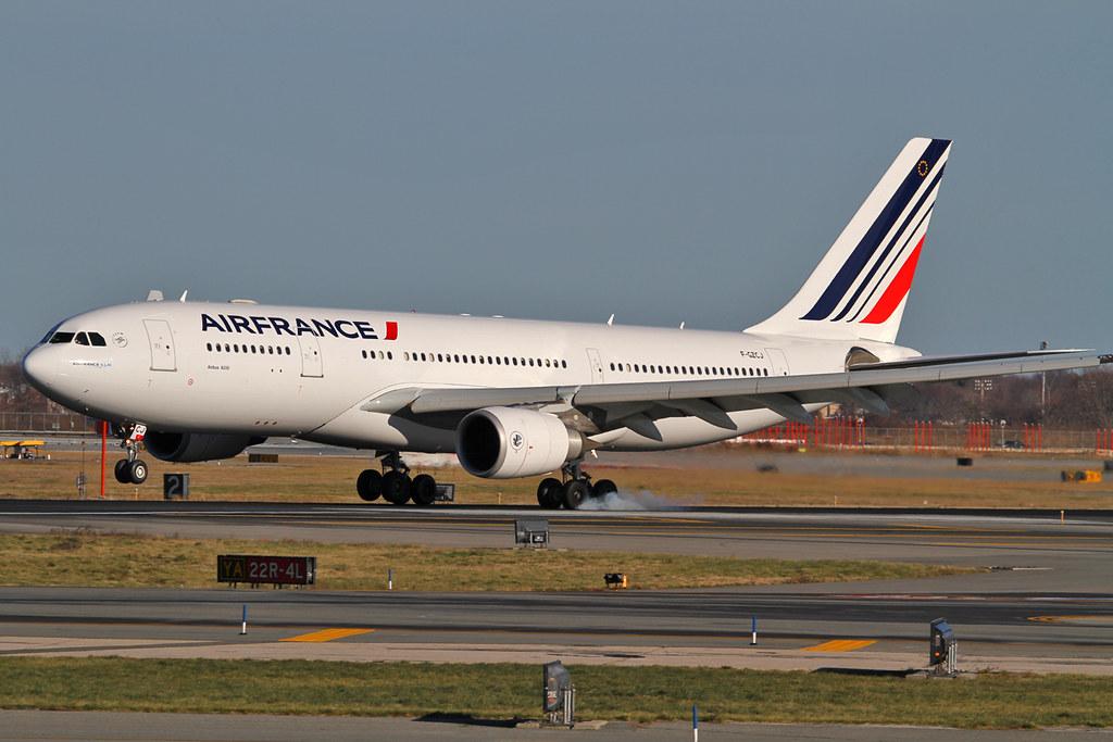 F-GZCJ - A332 - Air France