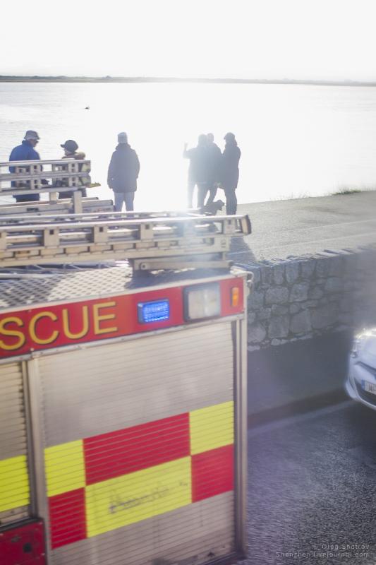 Rescue near Howth, Dublin, Ireland