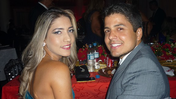 Renata Oliveira e Felipe Branco