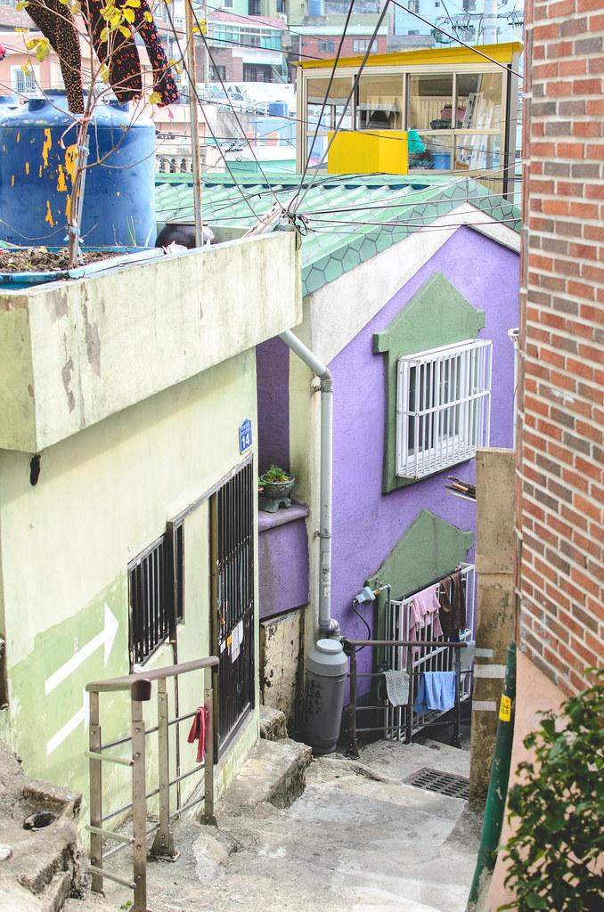 Gamcheon alleyway