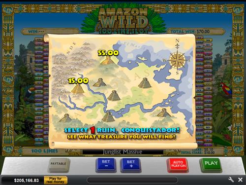 free Amazon Wild Amazon Bonus Map