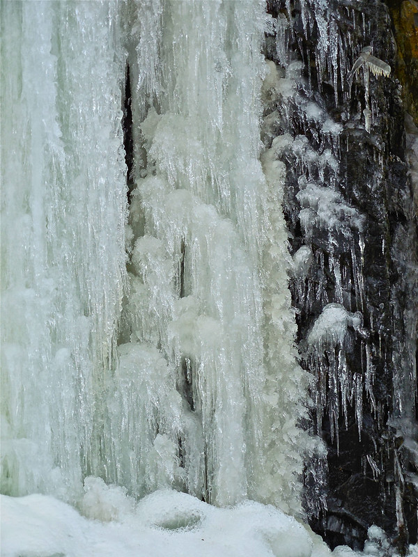 Waterfall of ice