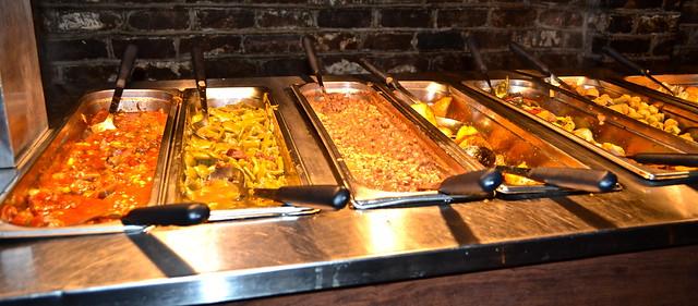 The Pirates House Savannah - lunch buffet