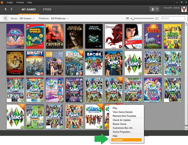 how to download cc sims 4 origin