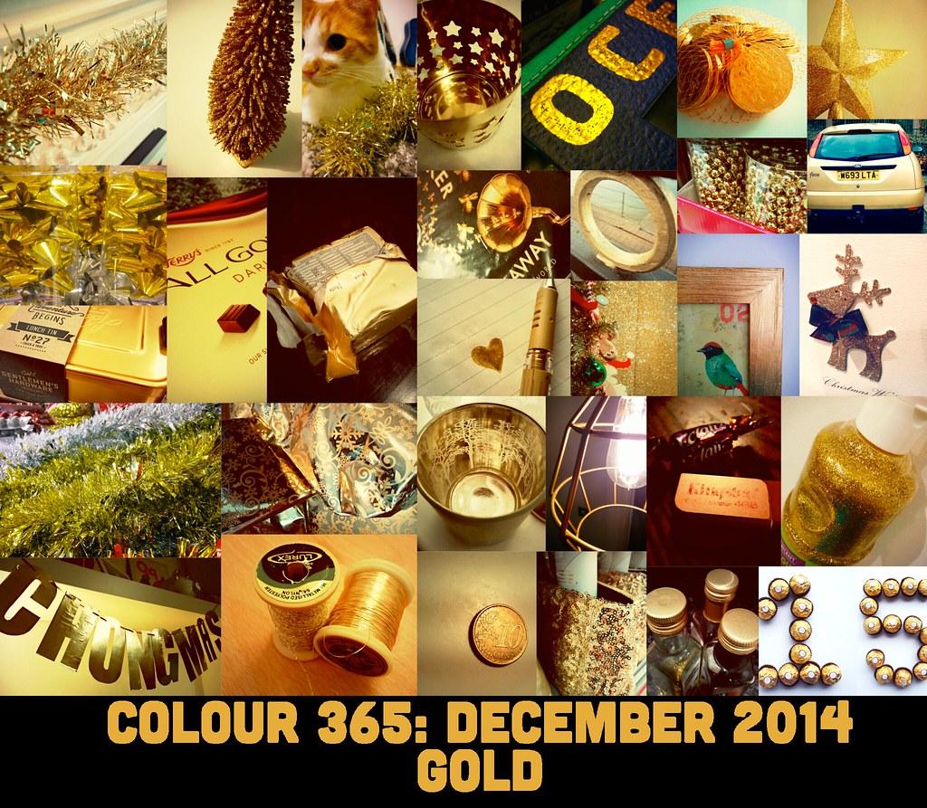 Colour 365: December 2014 Gold