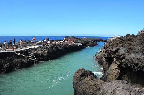 Rock Pools, Garachico, September, Tenerife