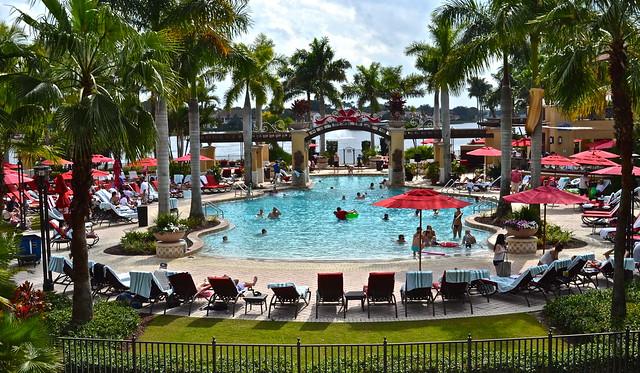 PGA National Resort and Spa - pool fun