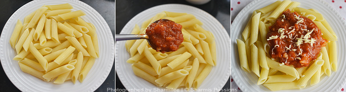 How to make Penne Arrabiata - Step5