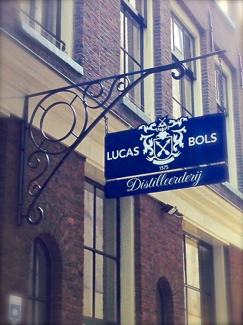 Lucas Bols Distillery sign