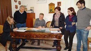 Turi - La firma dei protocolli