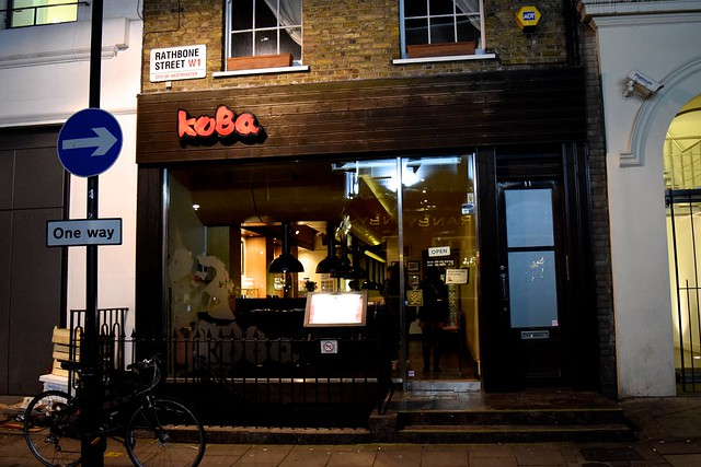 Places To Eat In London Koba Fitzrovia Rachel Phipps