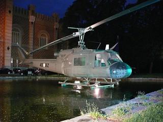 Agusta Bell AB 204 vor dem HGM