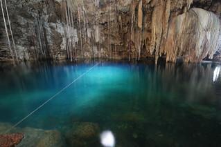 Xquequen Cenote.  Yucatn Peninsula, Mexico