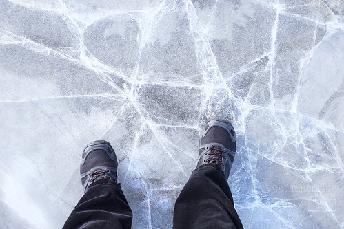 on thin ice...