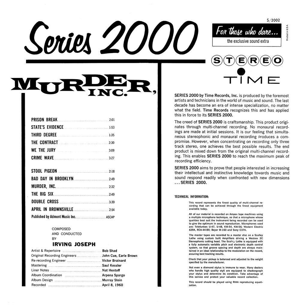 Irving Joseph - Murder, Inc.