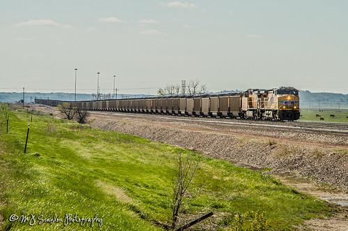 UP 6037 | GE AC44CWCTE | BNSF Black Hills Subdivision