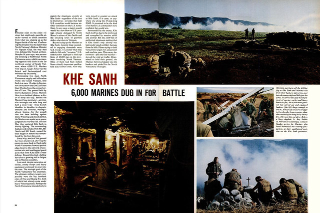 LIFE Magazine  Feb 9, 1968 (1) - KHE SANH - 6,000 Marines Dug in for Battle