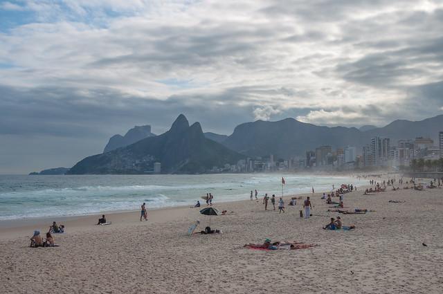 Ipanema Beach / Parque Garota de Ipanema, Rio de Janeiro, Brazil