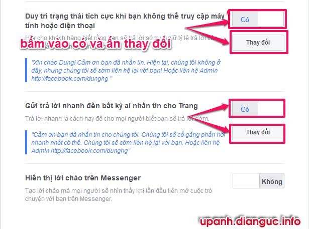 Tạo Chat Bot trả lời tin nhắn tự động trên Fanpage Facebook