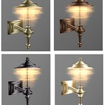 Wall Classic Chandelier 3D Models