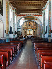 Mission San Luis Rey Sanctuary and Altar
