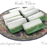 Kueh Talam SEAsian Cake 3D Model
