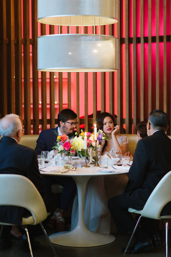 Celine Kim Photography Mildreds Temple Kitchen intimate colorful restaurant wedding Toronto wedding photographer-84