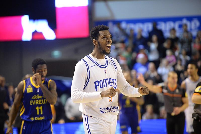 Basket, PB86 J11 : Poitiers - Evreux (2014-2015)