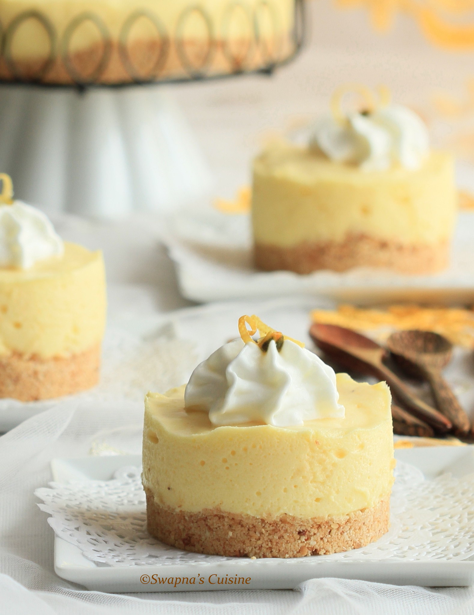 Passionfruit Satin Chiffon Pie Recipe